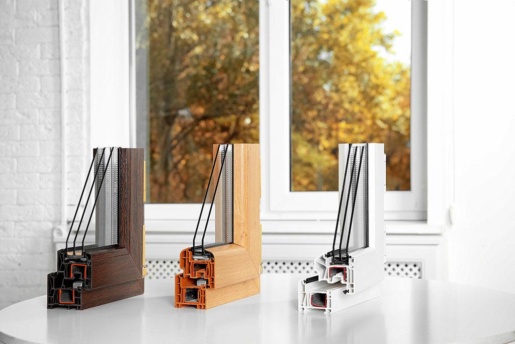 fenêtres PVC pour le style extérieur